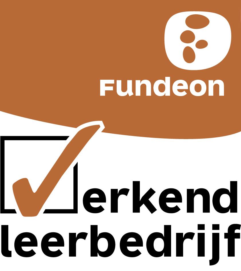 erkenning en certificering logo Fundeon